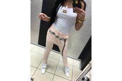 Pants Paparazzi zip pink, XS-M
