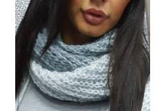 Scarf Paparazzi in ombre grey