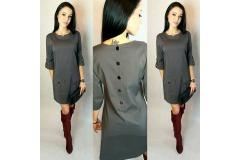 Dress in grey, S-M