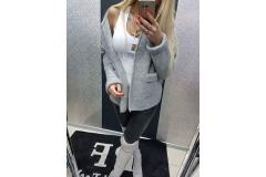 Cardigan PF grey, S-L