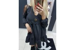 Dress PF Prima black, S-M