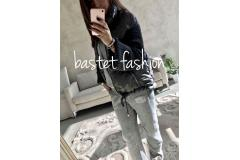 Bastet jacket in dark grey, S-XL