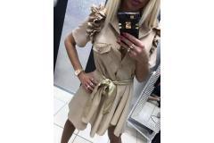 Shirt Lady Gaga beige, S-M