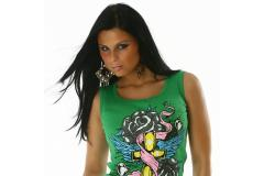 Top Model Perty in green, S-M