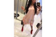Paparazzi dress pink, S-M