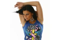 Top Model Perty in blue, S-M