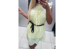Paparazzi dress yellow, S-M