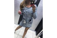 Jeans Dress Paparazzi 04, S-M