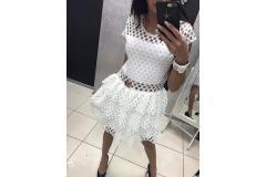Dress white, M