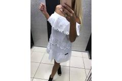 Dress Flower white, M-L
