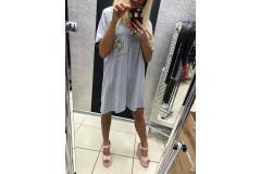 Tunica/dress PF pink, S-L
