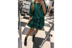 Dress Viola green, M-L