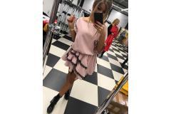 Dress Viola pink, M-L