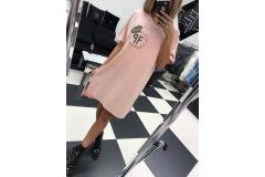 Dress Paparazzi Crown pink, M/L