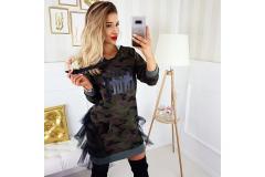 Tunica/dress Angel military, S-L