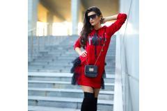 Tunica/dress Angel red, S-L