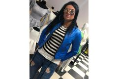 Blue jacket, XS-M