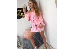 Dress Claris pink