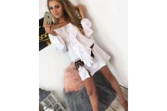 Dress Claris white