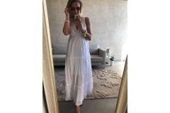 Maxi Dress white, S-XL