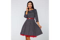 Dress Gotta with polka dots, 3/4 sleeve