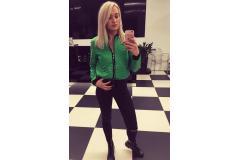 Green jacket, XS-M
