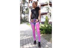 Bastet Jeans neon pink, S, L