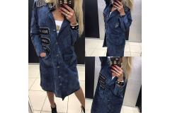 Coat Paparazzi Viv blue, M-L