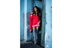 Sweater Meggi red, XS-L
