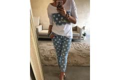 Pants with dots, S-XL