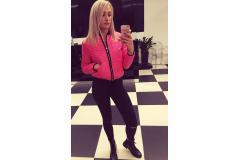 Pink jacket, XS-M