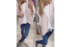 Classic Jacket in pink, one size