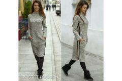 Bastet knitted dress, S