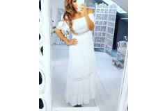 Maxi Dress Dream white, M-L