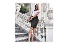 Skirt Gracie black, S-M