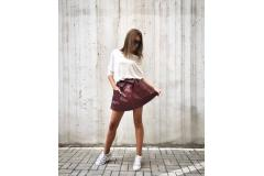 Skirt Indiana bordo, S-M