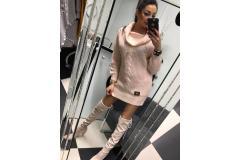 Sweater DB long pink