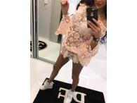 Paparazzi krajková halenka růžová