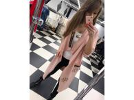 Kabátek Paparazzi růžový, L/XL