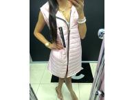 Vesta Paparazzi s kapucí růžová, S-L