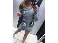 Šaty-tunika Paparazzi Jeans 04, S-M