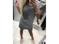Šaty/tunika Řetízek, M-L