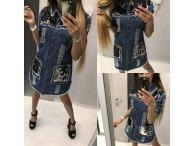 Šaty-tunika Paparazzi Jeans 01, S-M