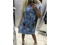 Šaty-tunika Paparazzi Jeans 03, M