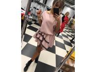 Šaty Viola růžové, M-L