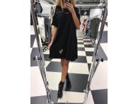 Tunikošaty Paparazzi Perla černé, L/XL