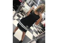 Šaty Paparazzi Cleo černé, L/XL