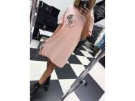 Šaty Paparazzi Crown růžové, M/L