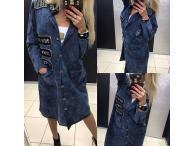 Kabát Paparazzi Viv modrý, M-L