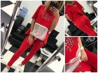Jogging set Paparazzi in red, S-M